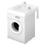 basin to mount on top of washing machine,white