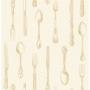 Cutlery Sidewall, Gold