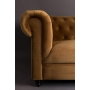 Sofa Chester Velvet Dark Brown