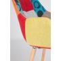 käetugedega tool Twelve, patchwork