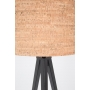 Floor Lamp Tripod Cork Black