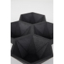 Tray Hexagon Black