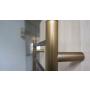 REDONDO Electric Towel Radiator 75W, 500x900 mm, bronze