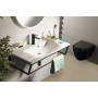 SKA construction under washbasin 900 mm black mat