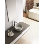 textured ceramic worktop basin Carnac
