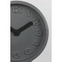 Clock Giant Grey