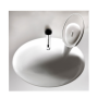 basin to mount on top of washing machine,white ,brackets, siphon and soap dish included