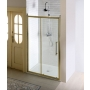 ANTIQUE shower sliding door 1200mm, Clear Glass with pattern, bronze
