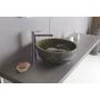 PRIORI ceramic basin diameter 43cm, ceramic, olive color