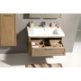 LARITA vanity unit 71x55x48cm,oak graphite