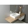 PURITY ceramic washbasin 60x42cm