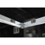 ARLETA quadrant shower enclosure 900x900mm, pure glass
