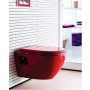 AMASRA SOFT CLOSING CLOSET COVER WITH METAL HINGE RED