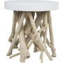 Side Table Cumi Glossy White