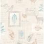 tapeet Woodland collage